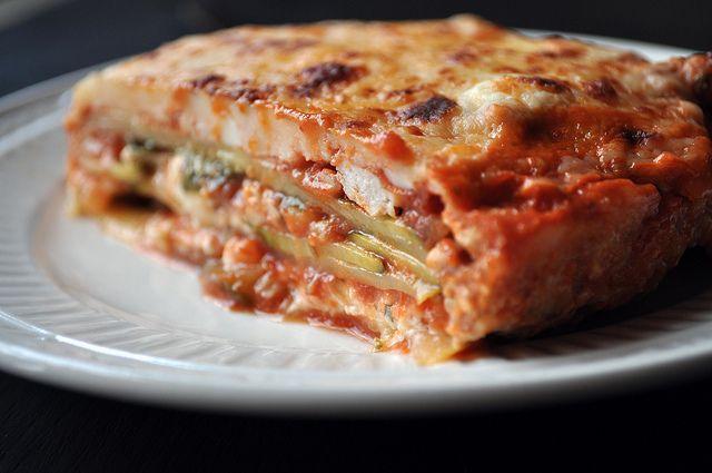 no noodle zucchini lasagna | food | Pinterest