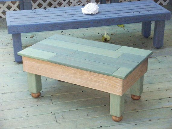 Hand Made Cottage Style Coffee Table With By 320DragonflyCottage 175