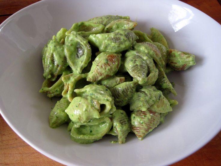 Creamy Pesto Pasta | foods i pretend i'll make | Pinterest
