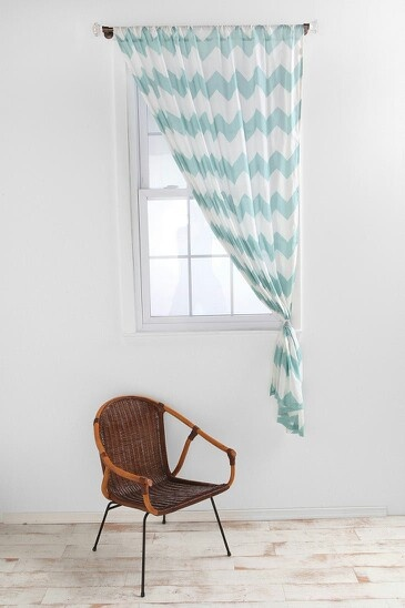 Chevron curtains for the home pinterest