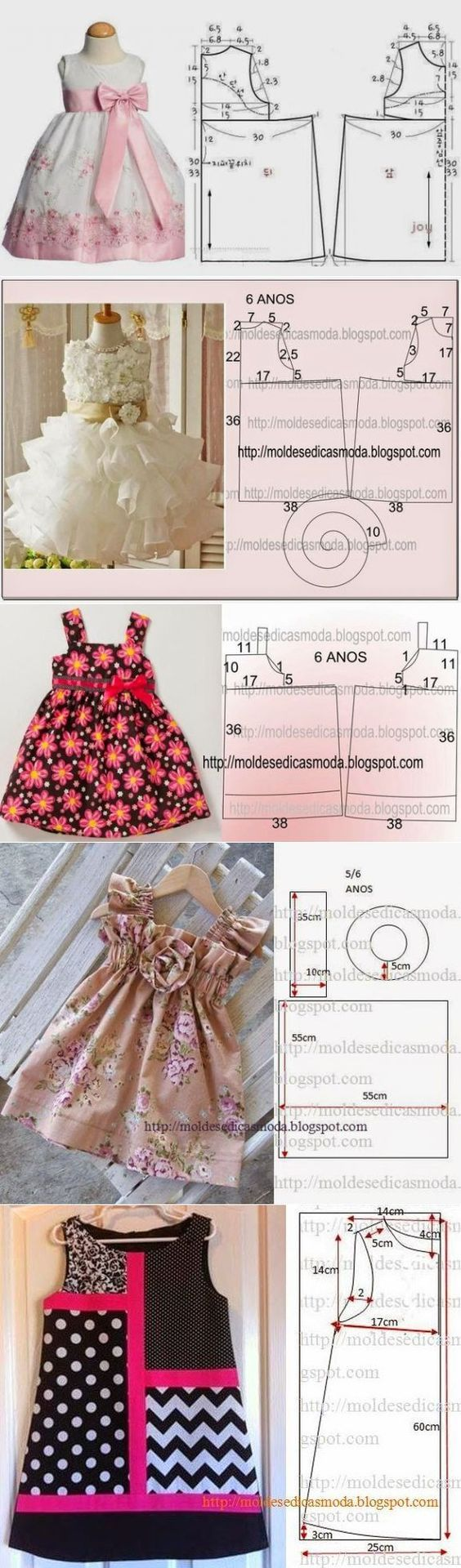 Как сшить платье для девочки ютуб