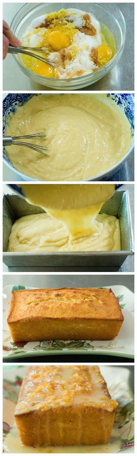 Yogurt-Marmalade Cake | Let Them Make Cake | Pinterest