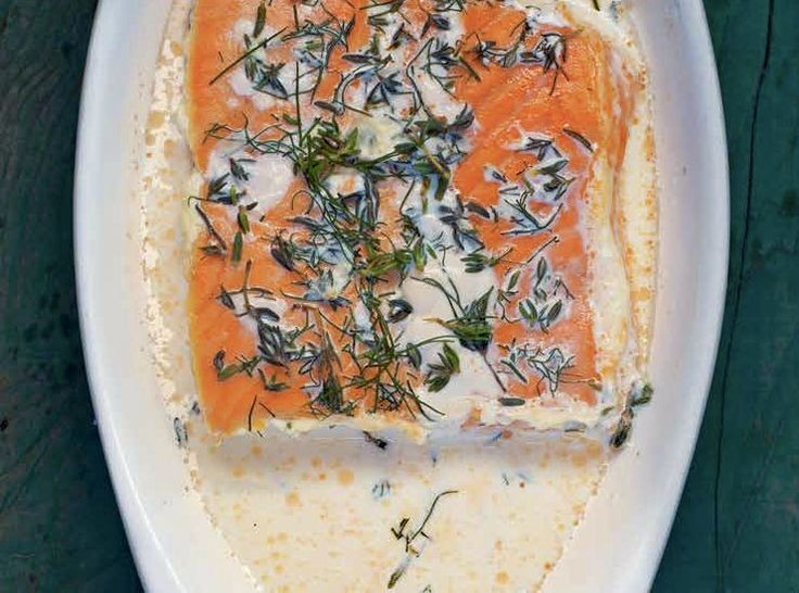 Baked Trout (or Salmon) With Honey-Thyme Glaze Recipes — Dishmaps