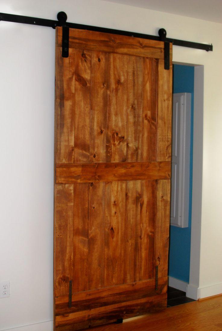 Sliding barn door hardware industrial modern vintage primitive up