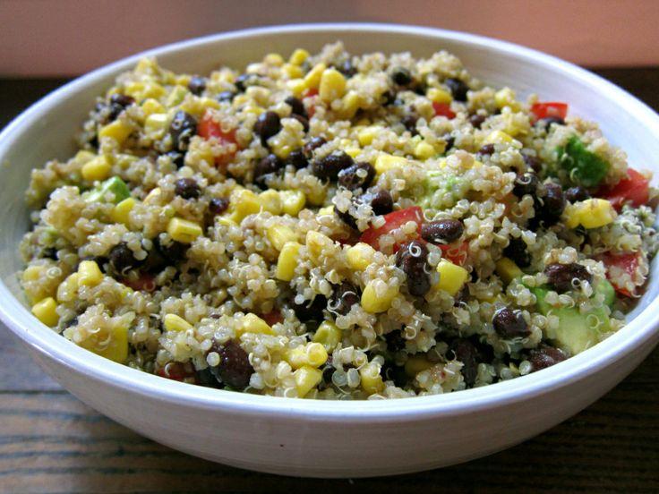 Quinoa Salad With Butternut Squash, Dried Cranberries & Pepitas Recipe ...