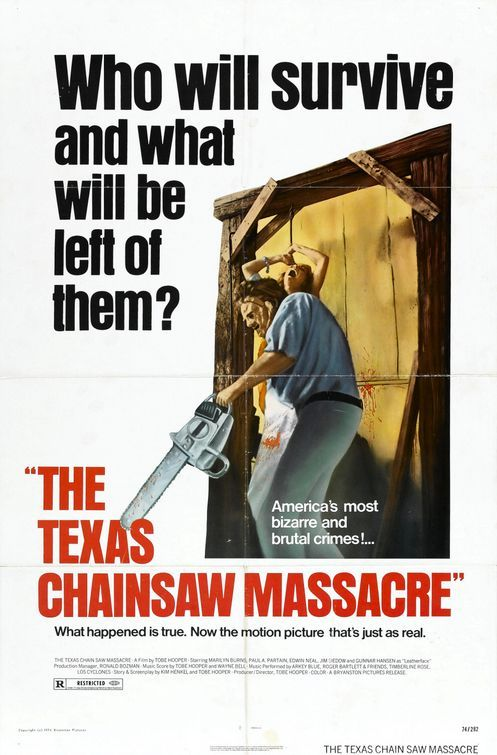 The Texas Chainsaw Massacre Poster - Click to View Extra Large Image