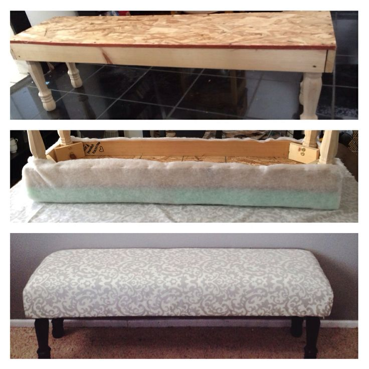 Diy End Of The Bed Bench For The Home Pinterest