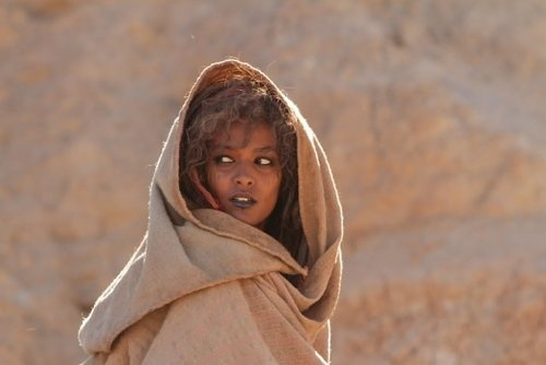 Liya Kebede in Day of the Falcon.