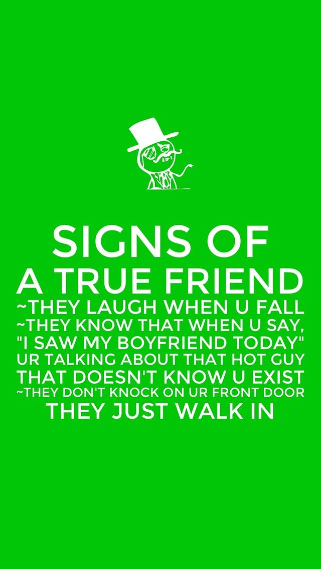 Friendship Quote Signs : Signs of a true friend keep calms quotes