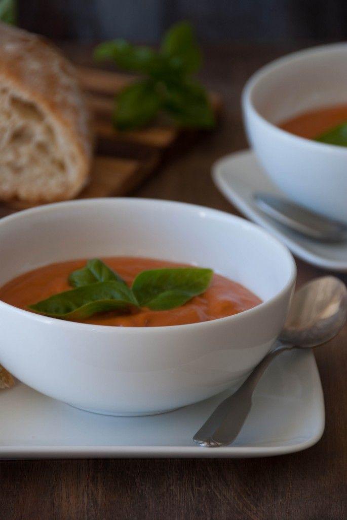 Creamy Tomato Coconut Soup 3 685x1024 Creamy Tomato Coconut Soup With ...