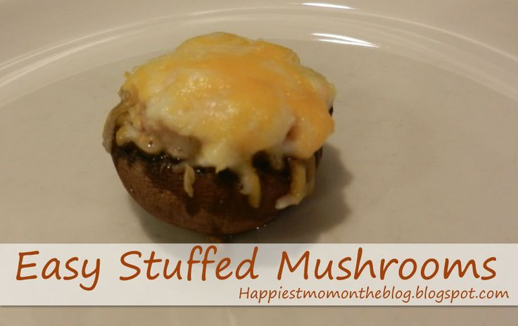 Savory Crab Stuffed Mushrooms Recipe — Dishmaps