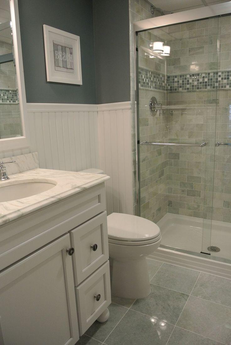beach condo bathroom ming green marble tile bathrooms