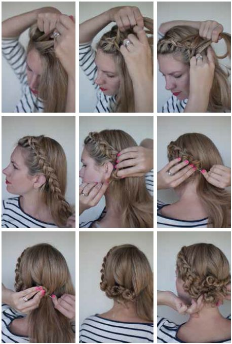 the dutch braided twist for step by step instructions go