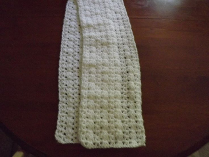 Winter scarf Crochet Pinterest