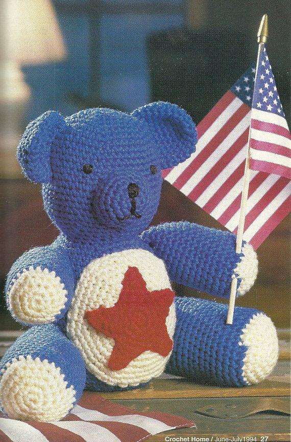 Crochet Home Magazine : Crochet Home Magazine number 41, 1994, Crochet teddy bear pattern, cr ...