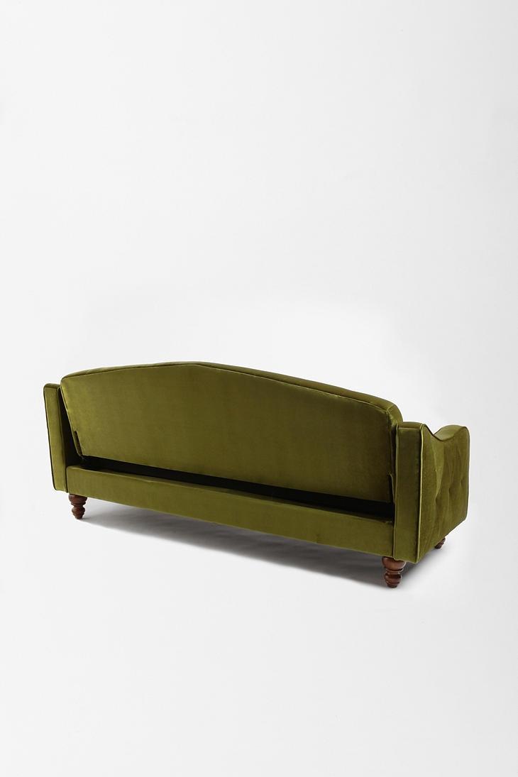 Velvet Sleeper Sofa