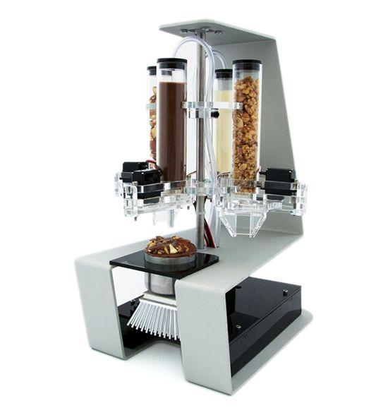 Cornucopia, chocolate 3D printer | Cool