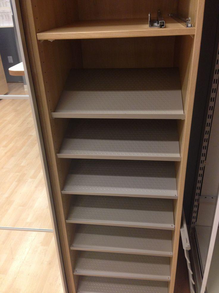 Shoe storage from ikea Organize