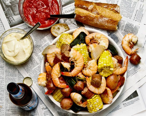 Frogmore stew seafood pot - Frogmore stew is not a stew and contains ...