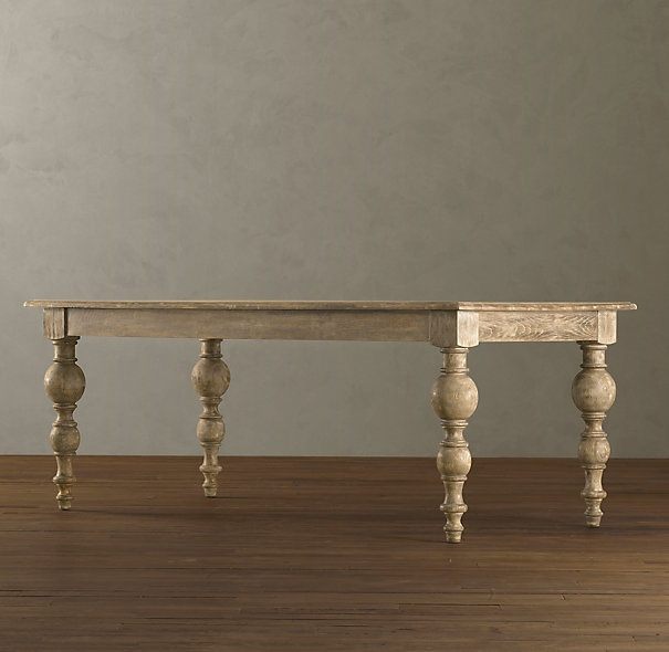 Grand Baluster Table Dining Pinterest