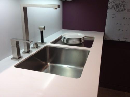 Franke Sink With Drainboard : franke kubus sink & drainboard Kitchen remodel Pinterest
