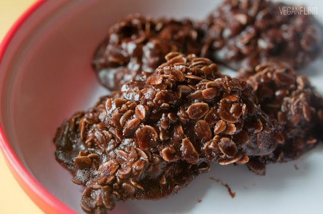 No Bake Chocolate Oatmeal Cookies | recette, sweet teeth | Pinterest