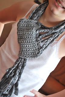 Crochet Braids Elizabeth Nj : Braided Scarf Crochet, Knitting, Etc... Pinterest