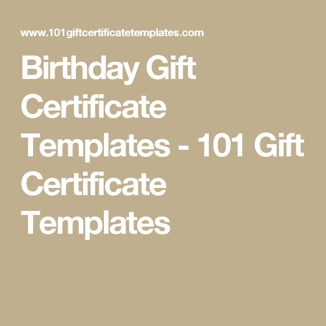 The 25 best Free printable gift certificates ideas on Pinterest