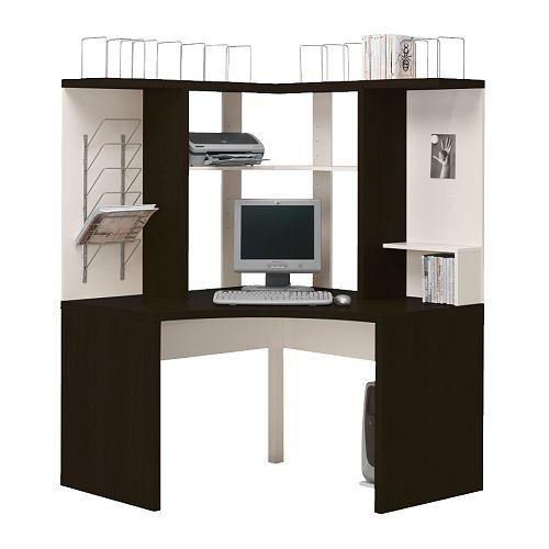 Ikea corner desk  Ikea  Pinterest