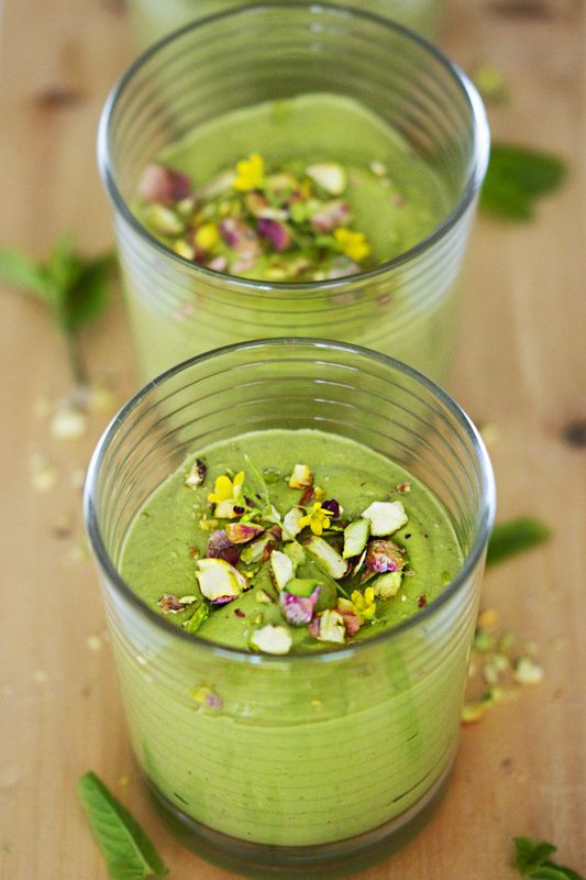 ethereal pistachio mousse pistachio avocado spinach coconut sugar ...