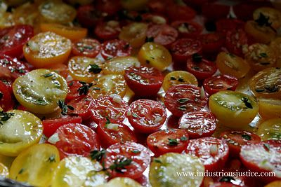 slow roasted tomatoes | Scrumptious food | Pinterest