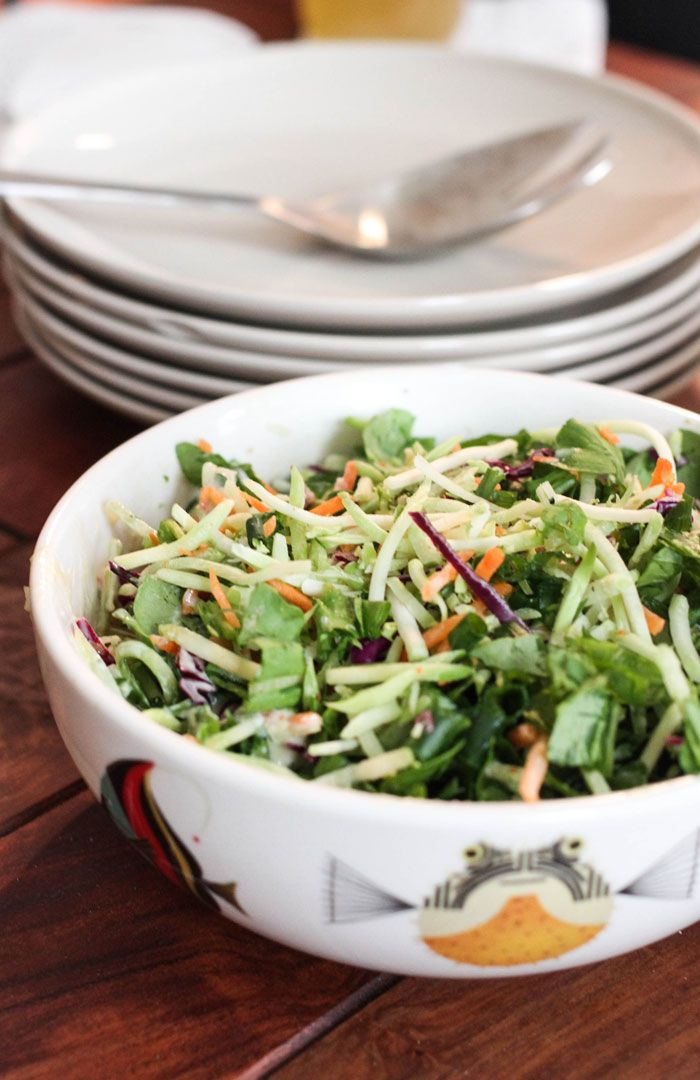 Miso Slaw at designer Kelly Purkey's For Reals Meals for One Part ...