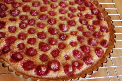 brown butter raspberry tart | recipes to try | Pinterest