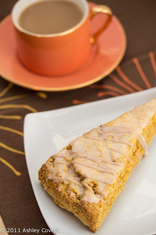 Starbucks' Pumpkin Scones | copycat famous restaurant recipes ...