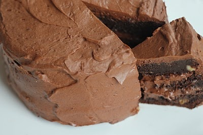 Extreme Chocolate Cake | Low carb: Cakes & cookies | Pinterest