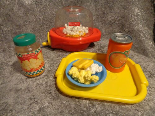Vtg fisher price fun with play food poppity popcorn party - Cuisine fisher price bilingue ...