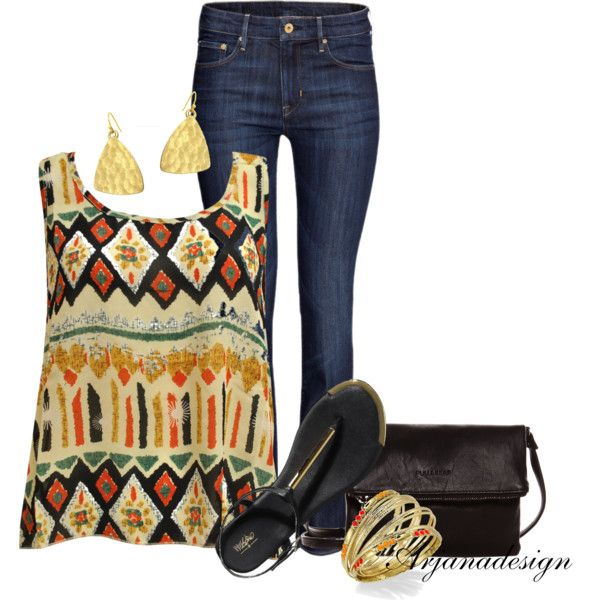 Daily Denim July 23, 2013, created by arjanadesign on Polyvore