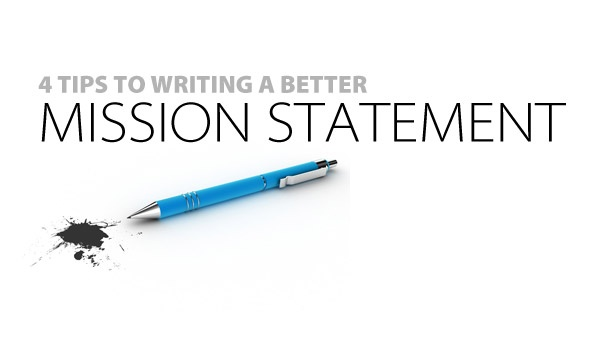 writing a good mission statement