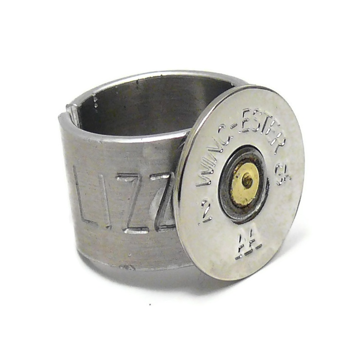 shotgun shell ring silver 15 00 cars and weapons