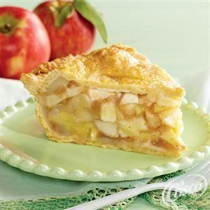 Deep-Dish Double Crust Apple Pie from Crisco®