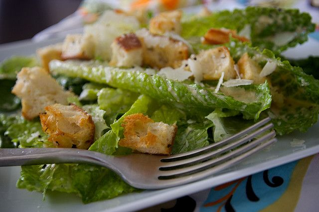 simple caesar salad | ℋealthy ℰats | Pinterest