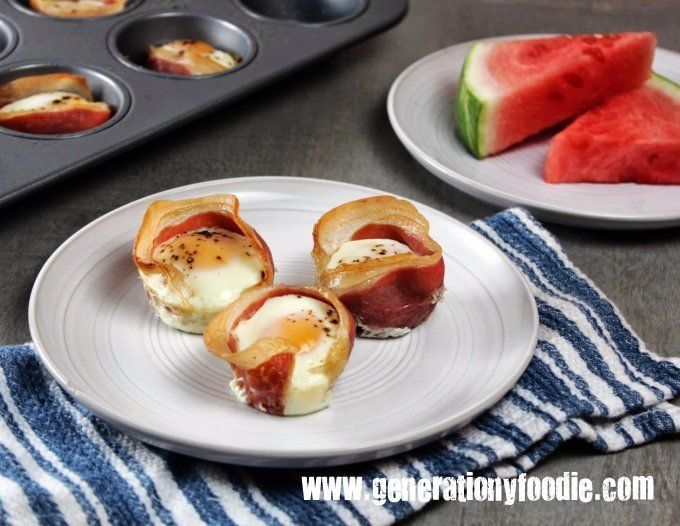 Prosciutto Egg Cups Recipes — Dishmaps