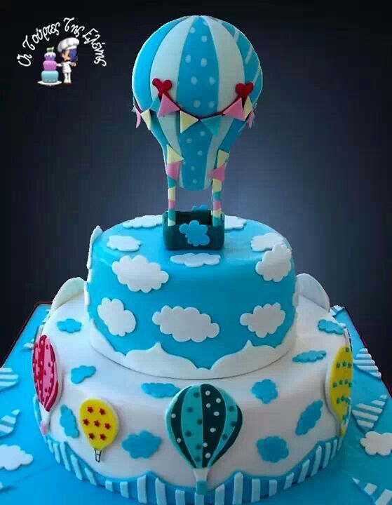 Hot air balloon cake. Cake Decorating! Pinterest