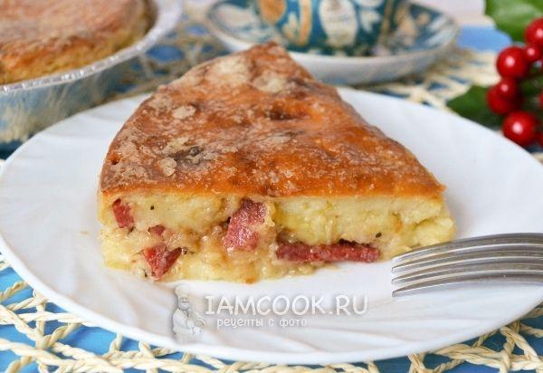 Рецепт пирога на сыворотке
