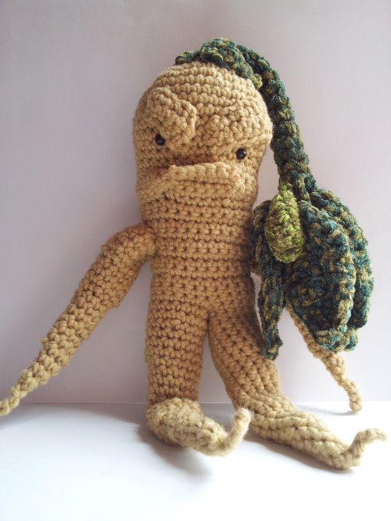 Amigurumi Mandrake : Crochet Harry Potter Mandrake