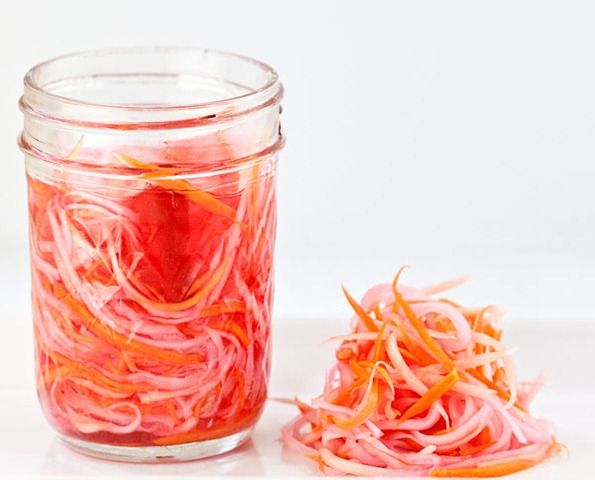 Do Chua (Vietnamese Carrot and Daikon Pickle) liberally adapted from ...