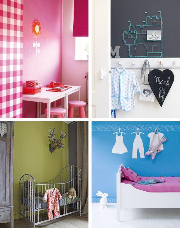 Kinderkamer inspiratie  Pregnant-baby  Pinterest