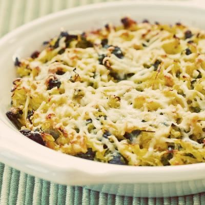 Low Glycemic - Spaghetti Squash and Chard Gratin