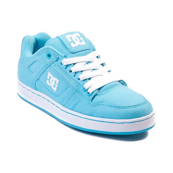 Womens DC Spartan Sport Low TX Skate Shoe Light Blue