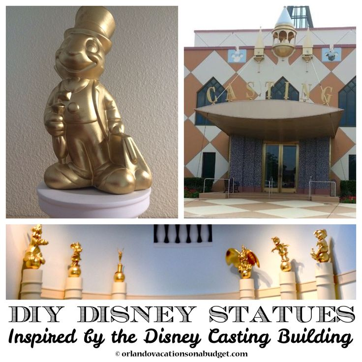 diy disney statues home decor disney pinterest